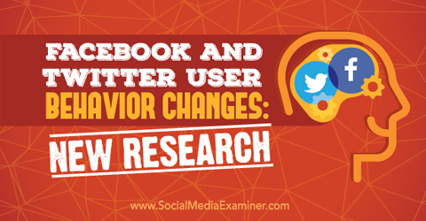 Facebook user behavior